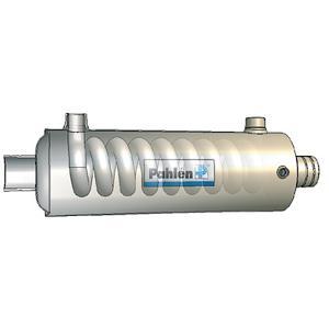 Титановый теплообменник цена Паяный пластинчатый теплообменник SWEP V400T Кызыл