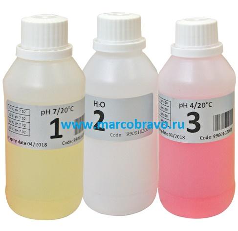 Буферные растворы, калибровочные жидкости