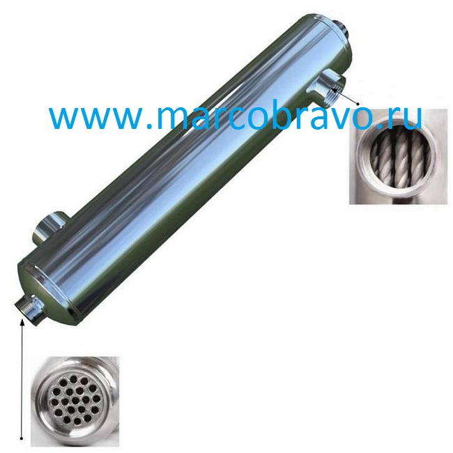 Дешевые теплообменники для бассейна Кожухотрубный теплообменник Alfa Laval ViscoLine VLO 51/76-6 Бийск