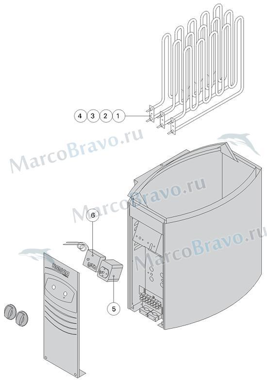 Таймер ZSK-510 (BC) - 1 шт